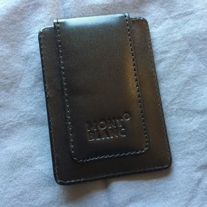 NWOT MontBlanc Wallet/Money Clip